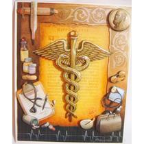 Quadro Formatura Médico Medicina Arte Francesa