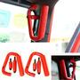 Par De Agarraderas Metal Rigido Jeep Wrangler 07 - Actual