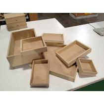 Caja De Fibrofacil 10x10x3cm