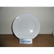 Prato Raso Bar Hotel Germer Porcelana Branca