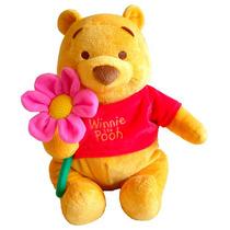 Peluche Winnie Pooh Con Flor - Chico (25cm) A
