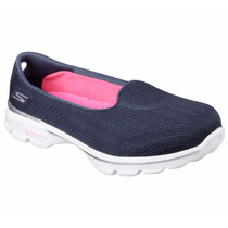 Zapatos Skechers Para Damas Gowalk 3 - 13983 - Nvy