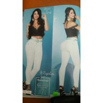 Jeans Colombianos De Revista Levanta Cola