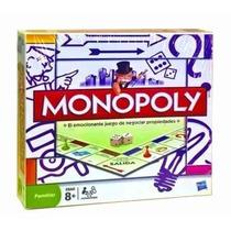 Monopoly Popular Juego De Mesa Familiar Hasbro