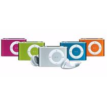 Mini Mp3 Player Shuflle Com Fone, Entrada + Cartão 2gb