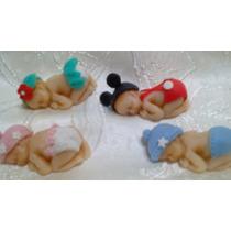 Souvenir Bebe En Porcelana Fria