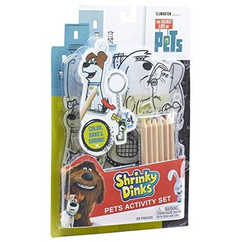 La Vida Secreta De Las Mascotas Shrinky Dinks Activity Set ...