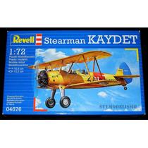 Avião Segunda Guerra Boeing Stearman Kaydet Kit 1/72 Revell