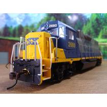 H4r Trenes Escala Ho Maquina Motor Bachmann Csx 2680 C/dcc