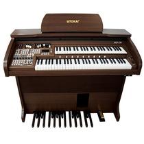 Órgão Eletrônico Tokai - Md750 Marrom Vengue