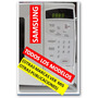 Frontal Microondas Membrana De Teclado Samsung Garantizado