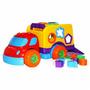 Caminhão Didático Brinquedo P/ Bebê Robustus Baby Divertoys