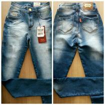Calça Jeans Feminina Patogê Skinny Com 3% De Lycra