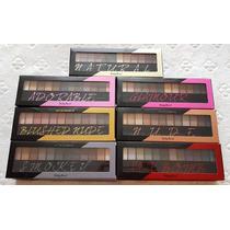 Paleta Kit De Sombras Com 12 Cores Ruby Rose