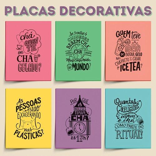 Placas decorativas frases humoradas cozinha sala quarto - Placas decorativas pared ...