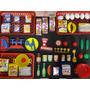 Kit Mini Supermercado Feira Açougue Compra Shopping Merceari