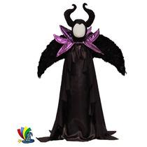 Disfraz Malefica Halloween Niña