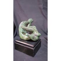 Alfredo Zalce Escultura En Bronce La Sirena Certificado