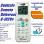 Controle Remoto Ar Condicionado Split Brastemp Fuzzy Logic