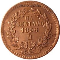 1 Centavo Juárez 1896 Mo - México - República Mexicana