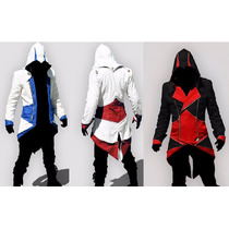 Hoddie Chamarra Blazer Assassins Creed Cosplay Animecun