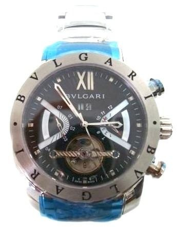 472422415de Relogio Bulgari Iron Man Aco Automatico Produto Top Original - R  391