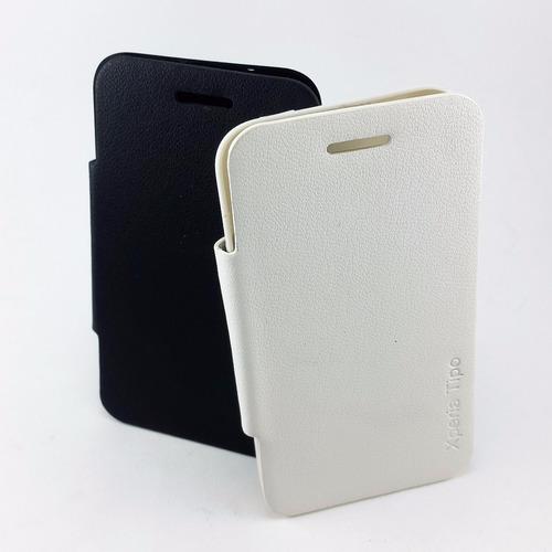 2b92cc6b795 Funda Con Tapa Flip Cover Sony Xperia Tipo St21i Microcentro - $ 175 ...