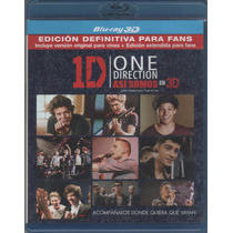 One Direction - Asi Somos En 3d (2013) - Blu-ray 3d Original