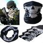 Máscara Bufanda De Esqueleto Para Motociclista