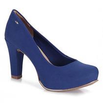 Sapato Scarpin Feminino Dakota - Azul