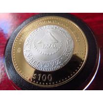 Moneda 100 Zacatecas 8 Reales Lvo Herencia Numismatica