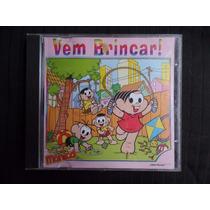 Turma Da Mônica - Vem Brincar - Cd