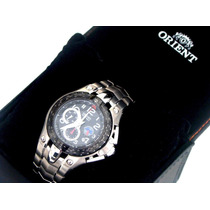 Relógio Orient Flytech Mbttc002 - Titanium - Novo, Original