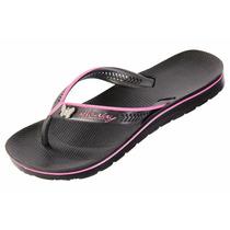 Calçados Alcalay Oficial, Chinelo Ch08, Preto/rosa