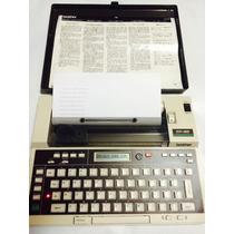 Maquina De Escribir Brother Ep-20 Portatil. Excelente! Usada