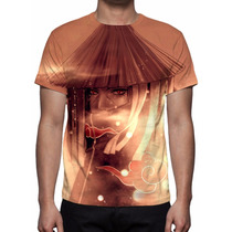 Camisa, Camiseta Anime Naruto Itachi Uchiha - Estampa Total