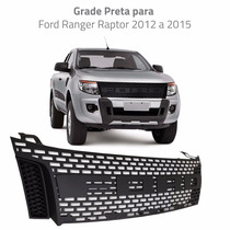 Grade Ford Ranger Raptor 2012 2013 2014 2015 Preta Importada