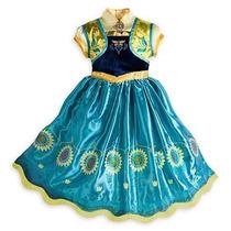 Disfraz Vestido Elsa Frozen Coronacion Disney Store Eeuu