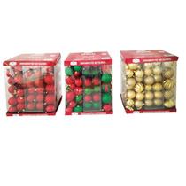 112 Bolas Arvore Natal Importada Não Estilhaça 6 Cm Lindas!