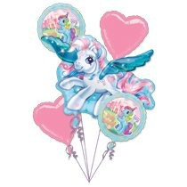 Mi Cumpleaños Little Pony Party Globo Ramo