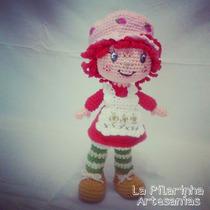 Muñeca Frutillita - Crochet Amigurumis