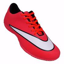 Tênis Nike Mercurial Futsal Futebol Campo Society 80% Descon