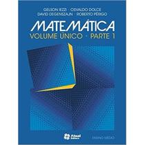 Matemática - Volume Único Livro Iezzi Gelson
