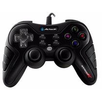 Control De Juegos Acteck Agj-3600 Usb Para Pc Laptop Y Ps3