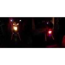 Luz Laser Señalador Advertencia Motocicleta Bicicleta