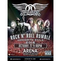Aerosmith Concierto Completo Mexico 2016