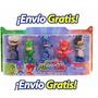 Pj Masks Set 5pz Héroes En Pijamas Envio Gratis  +barato<br><strong class='ch-price reputation-tooltip-price'>$ 650<sup>00</sup></strong>