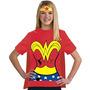 Disfraz Mujer Maravilla De Liga De La Justicia De Niños 100