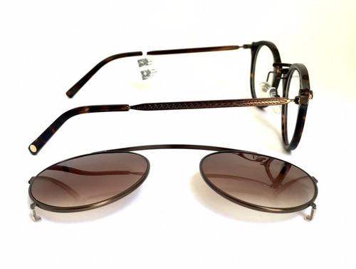 Kit Chilli Beans Óculos De Grau  Armação + Clip Solar - R  398,00 em  Mercado Livre fb97246f16
