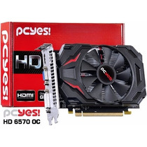 Placa De Video Amd Radeon 6570 4gb Oc Ddr3 128bits Performac